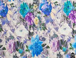 LEA535 blaue Blumen