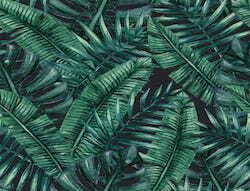 Tropische Blätter grün