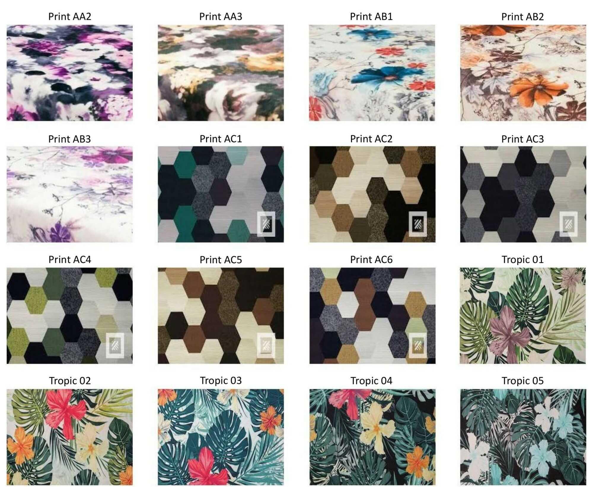 M-DEKO Verfügbare Muster aus Polstervelours Teil 5