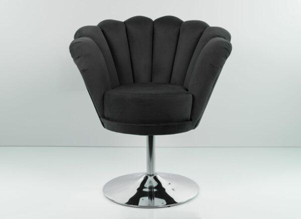 Sessel Loungesessel M-DEKO Modell LUX-1, Drehbar, Bezug aus Velours in vielen Farben erhältlich